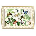 butterfly pattern, designer tray