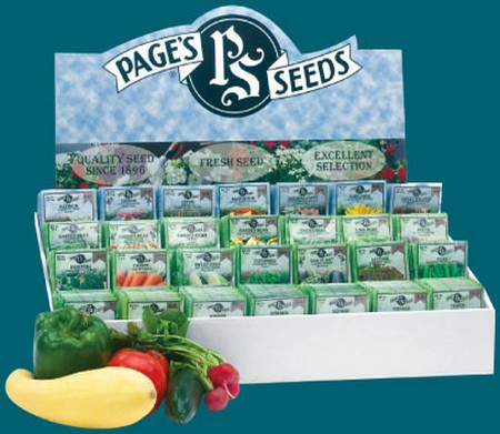 Page's Seeds display