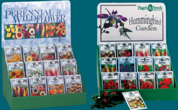 wildflower and hummingbird garden seeds