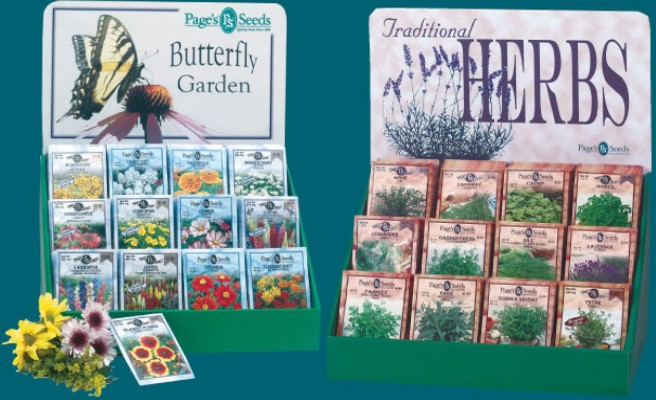 buttlerfly garden and Traditional Herbs seeds