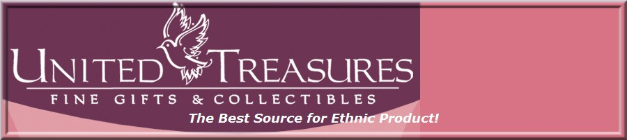 United Treasures, Fine Gifts and Collectibles logo