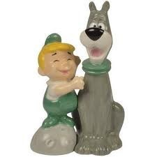 Leroy and Astro Jetson salt pepper set