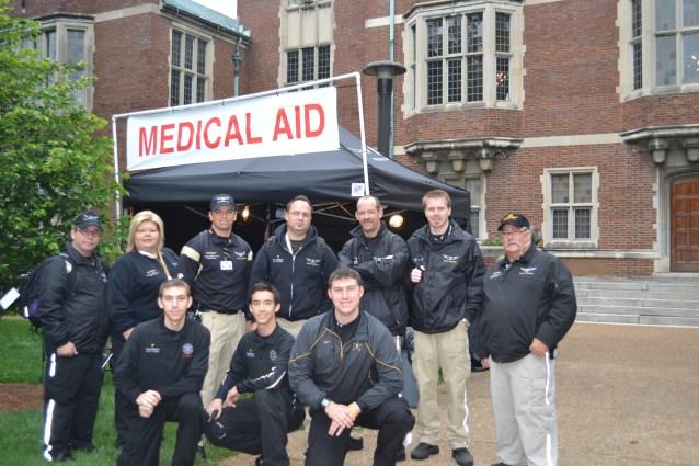 VEMS assisting LifeFlight Event Medicine at a Vanderbilt Event