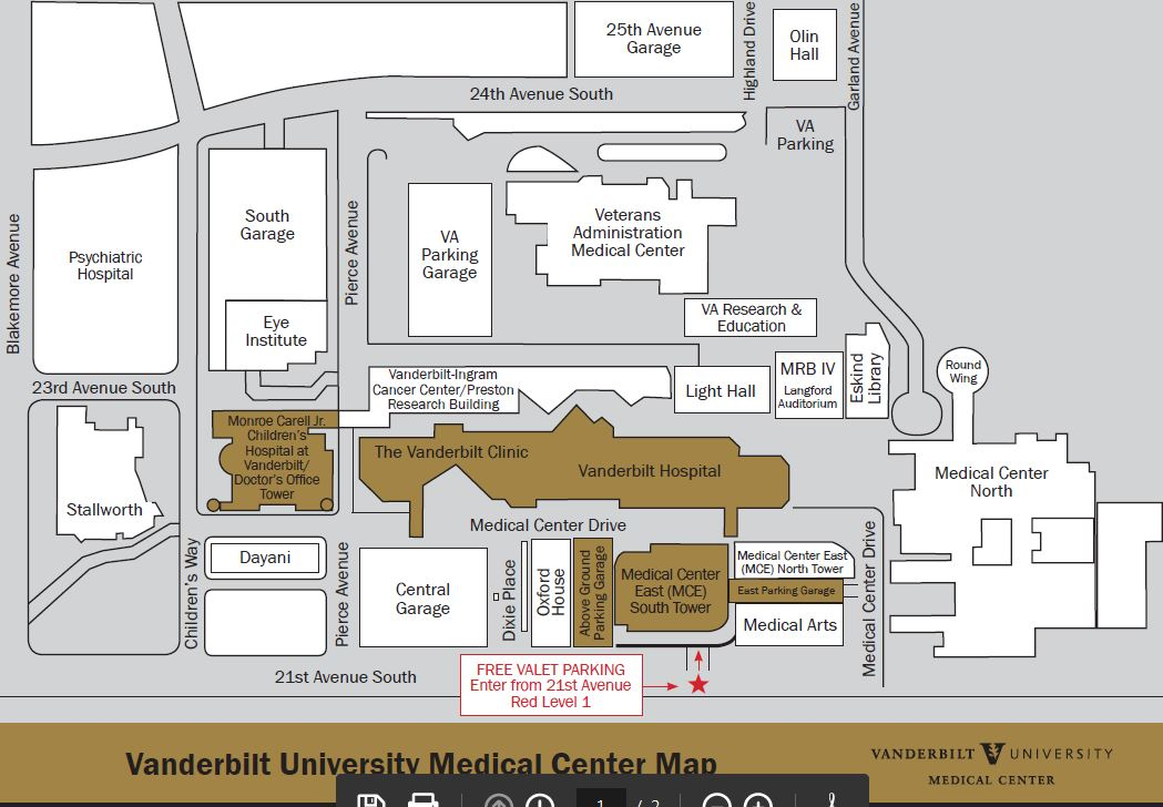 Patient and Visitor Information - Parking and Transportation
