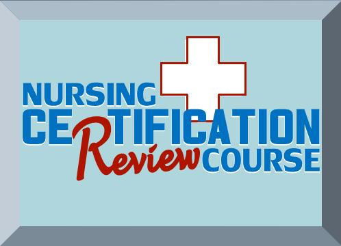 nursing education and professional development - certification exam ...