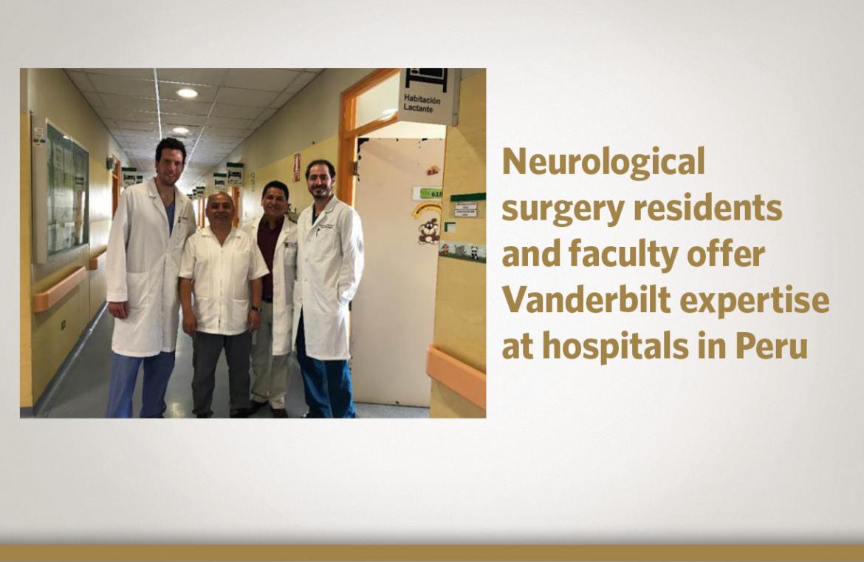 Department of Neurological Surgery - International