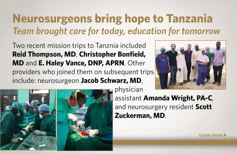 Department of Neurological Surgery - News - Vanderbilt