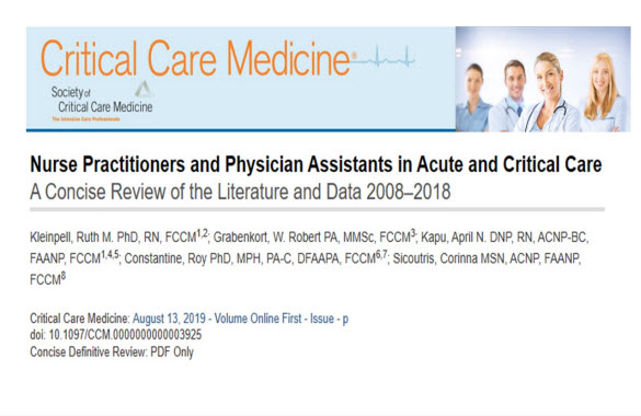 APRN & PA Data Highlighted in New Article