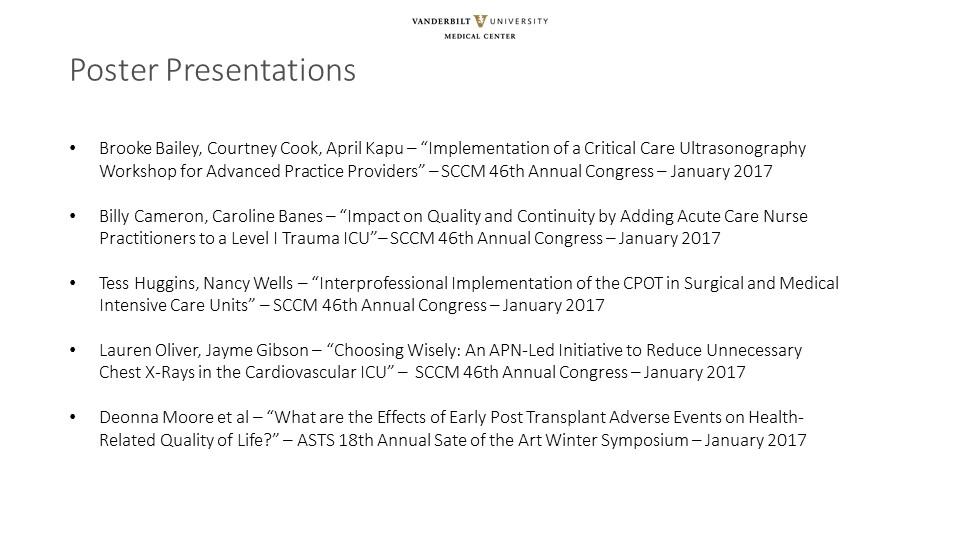Office of Advanced Practice - Provider Spotlight - Vanderbilt Health