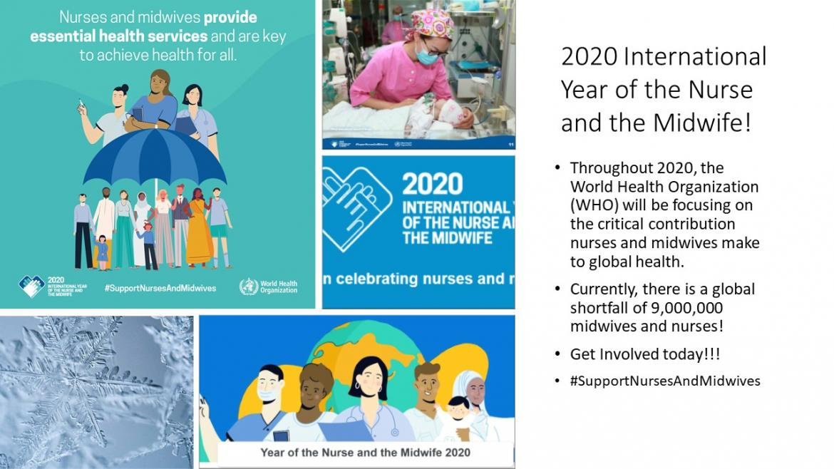 2020 Year of Nurse and Midwife