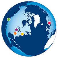 Osher Centers Globe