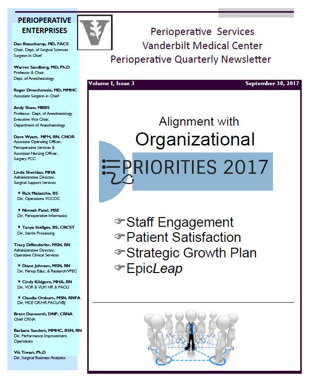 Perioperative Quarterly Newsletter