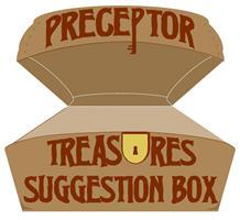 Preceptor Treasure Box