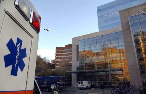 Medical Center North round wing tunaraound