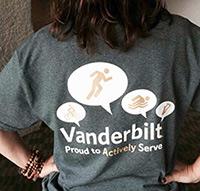 Team Vanderbilt t-shrt