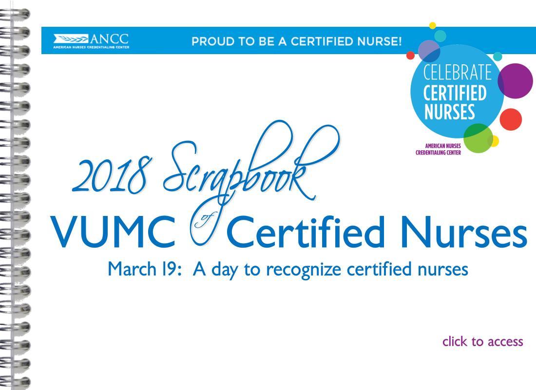 Vanderbilt Nursing Achieve The Remarkable Our Certified Nurses