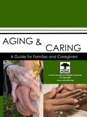 COA Aging and Caring book