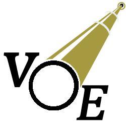 VOE White Logo Sm